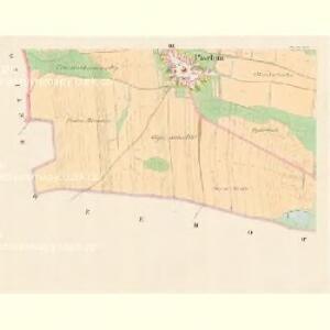 Pischtin - c5791-1-003 - Kaiserpflichtexemplar der Landkarten des stabilen Katasters