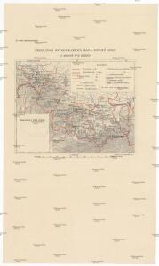 Přehledná hydrografická mapa povodí Odry na Moravě a ve Slezsku