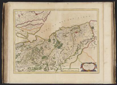 Moravia Scotiae provincia, ex Timothei Pont  / scedis descripta et aucta per Robert: Gordonium a Strathloch.