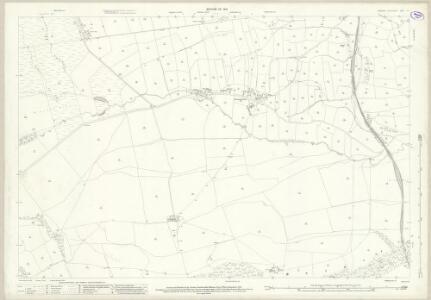 Yorkshire V.9 (includes: Cotherstone; Hunderthwaite; Romaldkirk) - 25 Inch Map