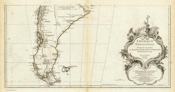 Amerique Meridionale. (Southern section)
