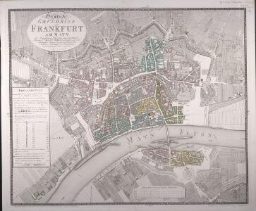 Geometrischer Grundriss von Frankfurt Am Mayn