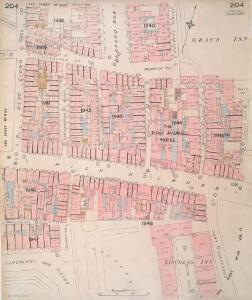 Insurance Plan of London Vol. VIII: sheet 204