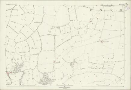 Warwickshire LVII.13 (includes: Barton on The Heath; Long Compton) - 25 Inch Map