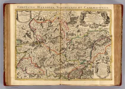 Hainaut, Namur, Cambresis.