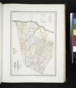 Map of the county of Greene / by David H. Burr ; engd. by Rawdon, Clark & Co., Albany, & Rawdon, Wright & Co., New York.