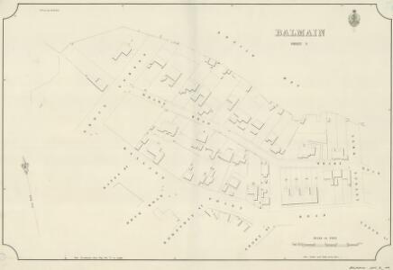 Balmain, Sheet 5, 1889