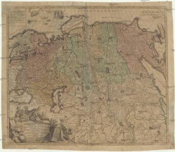 Generalis totius imperii Russorum novissima tabula