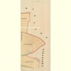 Ungarschitz - m3195-1-006 - Kaiserpflichtexemplar der Landkarten des stabilen Katasters