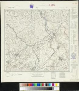 Messtischblatt 2585 : Alme, 1930 Alme