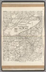 AutoTrails Map, Eastern Ohio, Western Pennsylvania, Southern Ontario, Western New York, Western Maryland, Northern West Virginia.