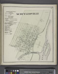 Schuylerville Business Directory. ; Schuylerville [Village]