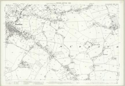 Gloucestershire LXXVI.3 (includes: Hanham Abbots; Kingswood; Oldland) - 25 Inch Map