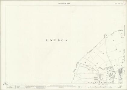 Kent VII.12 (includes: Bromley; Lewisham) - 25 Inch Map