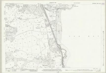 Devon CXXII.9 (includes: Paignton) - 25 Inch Map