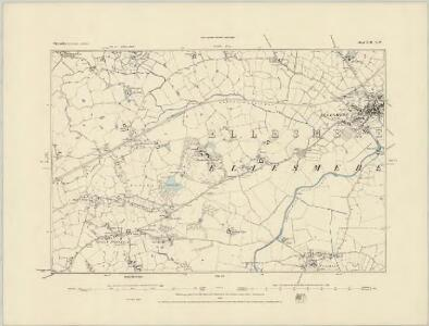 Shropshire XIII.SE - OS Six-Inch Map
