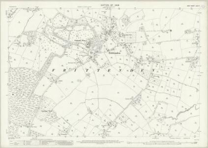 Kent LXIII.9 (includes: Frittenden) - 25 Inch Map