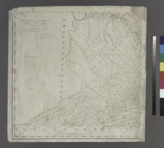 A map of Virginia : formed from actual surveys and the latest as well as the most accurate observations / by James Madison ; drawn by Wm. Davis ; with extensive additions and corrections to the year 1818.