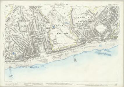 Sussex LXXI.2 (includes: Hastings) - 25 Inch Map