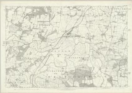 Sussex XXXVI - OS Six-Inch Map