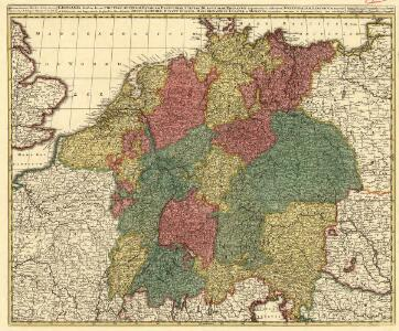 Germania divisa in decem Circulos,