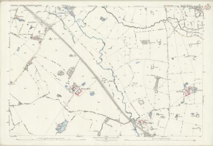 Staffordshire XXIX.8 (includes: Chebsey; Eccleshall; Swynnerton) - 25 Inch Map