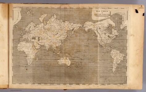 World Mercator's projection.