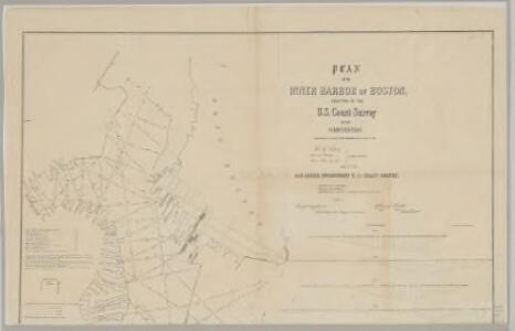 Plan of the Inner Harbor of Boston : Northern sheet