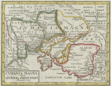 Cvmania Magna olim Hvnnia Orientalis