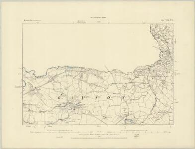 Worcestershire XIII.SE - OS Six-Inch Map