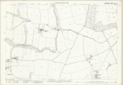 Staffordshire LXI.5 (includes: Badger; Patshull; Worfield) - 25 Inch Map