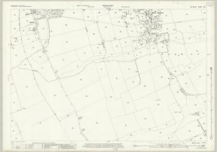 Wiltshire XLII.1 (includes: Milton Lilbourne; Pewsey) - 25 Inch Map