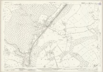 Derbyshire XI.12 (includes: Sheffield) - 25 Inch Map