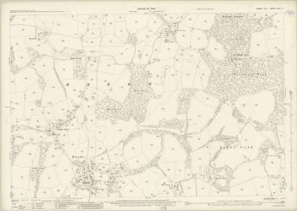 Sussex XLIV.11 (includes: Brede) - 25 Inch Map