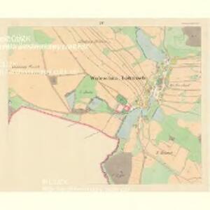 Woleschna Böhmisch (Woleschna Česka) - m0390-1-003 - Kaiserpflichtexemplar der Landkarten des stabilen Katasters