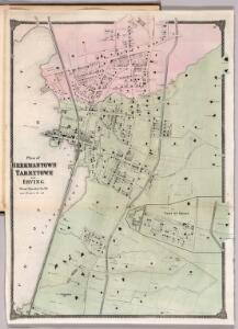 Plan of Beekmantown, Tarrytown and Irving, Westchester County, New York.