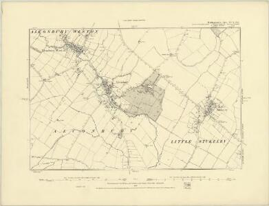 Huntingdonshire XVII.NW - OS Six-Inch Map
