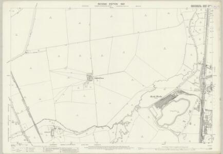 Bedfordshire XXVII.1 (includes: Arlesey; Henlow; Ickleford; Shillington) - 25 Inch Map