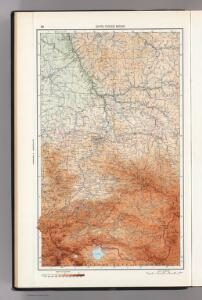 36.  South Yenisei Region.  The World Atlas.