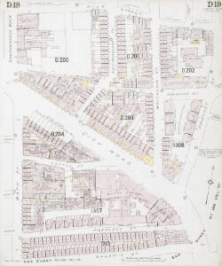 Insurance Plan of London North District Vol. D: sheet 19