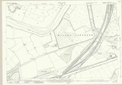 Lancashire CXV.8 (includes: Great Sankey; Penketh; Walton; Warrington) - 25 Inch Map