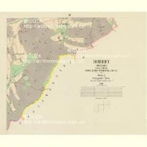 Dobrey (Dobreg) - c1175-1-004 - Kaiserpflichtexemplar der Landkarten des stabilen Katasters
