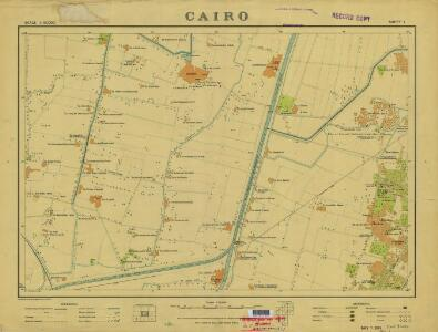 Cairo, 1:10.000 (Sheet 1)