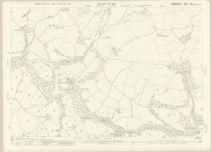Caernarvonshire XXIV.11 (includes: Eidda; Llanrwst Rural; Penmachno; Pentrefoelas) - 25 Inch Map