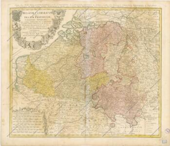 Belgium Catholicum seu Decem Provinciae Germaniae Inferioris...