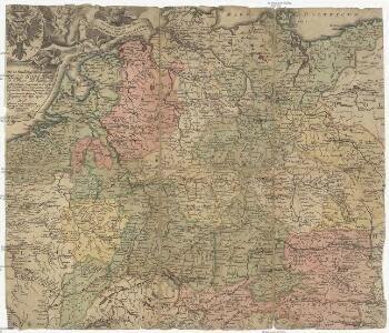 [Neu-vermehrte Post-Charte durch gantz Teutschland nach Italien, Franckreich, Niederland, Preußen, Polen, und Ungarn etc