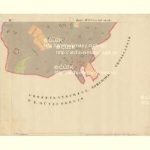 Trschitz - m3142-1-015 - Kaiserpflichtexemplar der Landkarten des stabilen Katasters