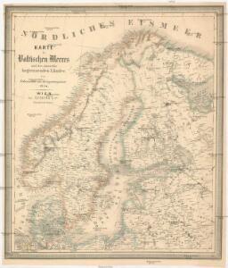 Karte des Baltischen Meeres