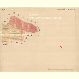 Gnaster - m0733-2-007 - Kaiserpflichtexemplar der Landkarten des stabilen Katasters