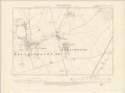 Cambridgeshire LVIII.NW - OS Six-Inch Map